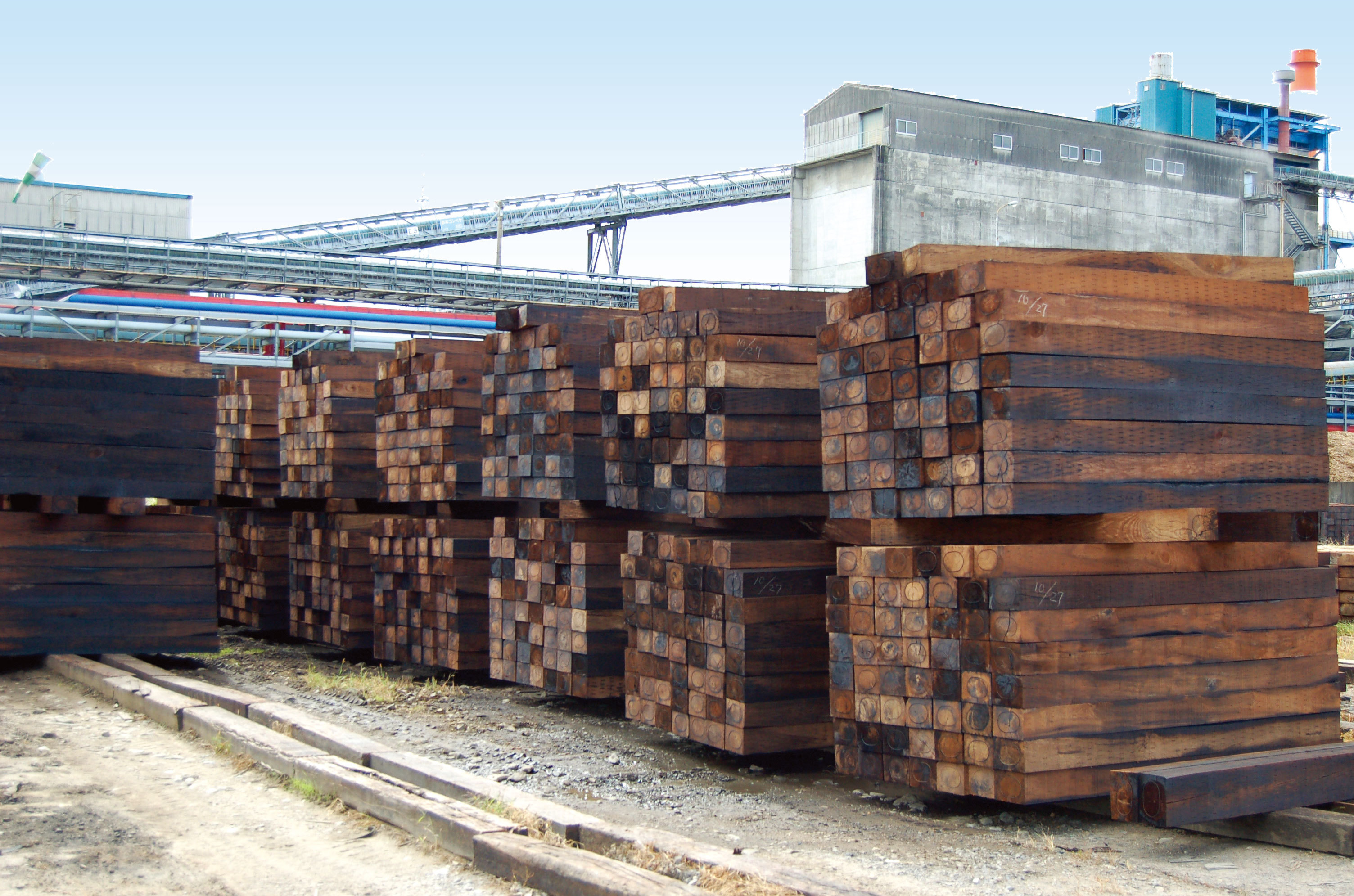 Railroad ties Business
